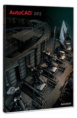 Autodesk AutoCAD 2012 RUS: